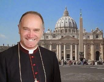 Bp Bernard Fellay i Watykan