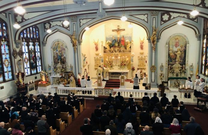 Uroczysta Msza pontyfikalna w Święto Boskiego Macierzyństwa Najświętszej