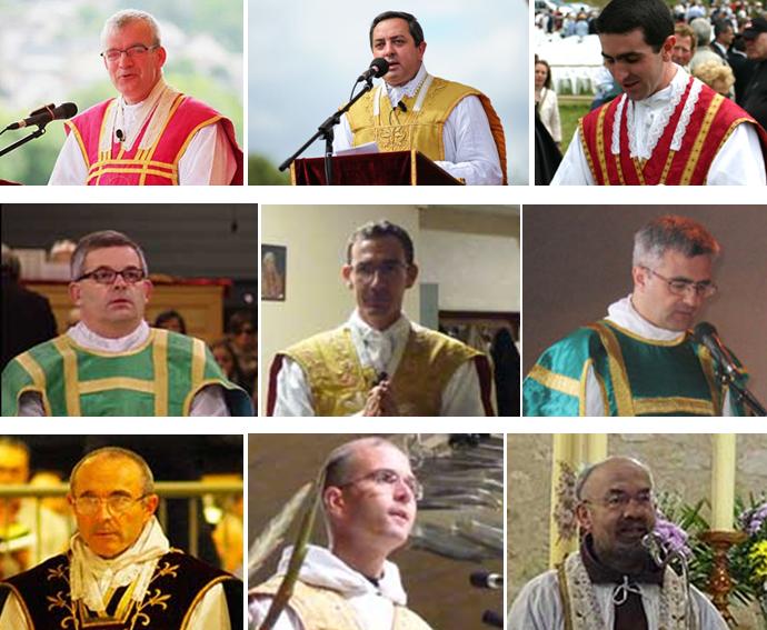 Francuscy księża i zakonnicy opozycyjni w Bractwie Św. Piusa X (FSSPX)